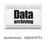 information concept  newspaper... | Shutterstock . vector #1060429751