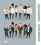 business characters collection... | Shutterstock .eps vector #1060431431