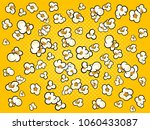 pop corn background cartoon... | Shutterstock . vector #1060433087