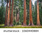 classic view of famous giant... | Shutterstock . vector #1060440884