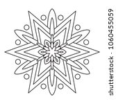 black and white coloring... | Shutterstock .eps vector #1060455059