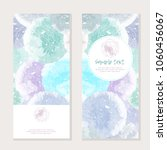 vector watercolor splashes... | Shutterstock .eps vector #1060456067