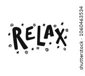 Relax   Hand Drawn Lettering...