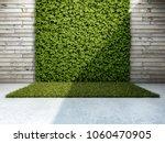 inner courtyard with vertical... | Shutterstock . vector #1060470905