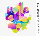 hello summer. typographic... | Shutterstock .eps vector #1060471094