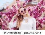 outdoor portrait of young... | Shutterstock . vector #1060487345