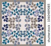 autumn square arrangement from... | Shutterstock . vector #1060489085