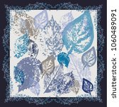 autumn square arrangement from... | Shutterstock . vector #1060489091