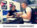 fitness membership at the...   Shutterstock . vector #1060490885