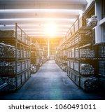 the big warehouse | Shutterstock . vector #1060491011