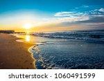 ocean city nj sunrise | Shutterstock . vector #1060491599