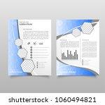 modern triangle presentation... | Shutterstock .eps vector #1060494821