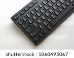 black keyboard of a computer...