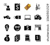 icon currency with money graph... | Shutterstock .eps vector #1060501529