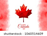 happy canada day vector holiday ... | Shutterstock .eps vector #1060514609