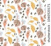 botanical garden seamless... | Shutterstock .eps vector #1060520171