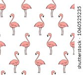 seamless vector cartoon doodle... | Shutterstock .eps vector #1060525235
