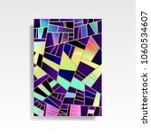 abstract multicolored cover.... | Shutterstock .eps vector #1060534607