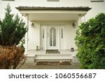 front door entrance from luxury ... | Shutterstock . vector #1060556687