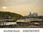 this is the most expensive land ... | Shutterstock . vector #1060565405