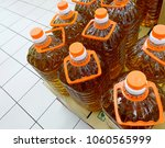 close up of cooking oil bottles ...   Shutterstock . vector #1060565999