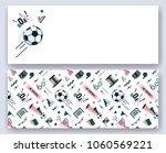 soccer football abstract... | Shutterstock .eps vector #1060569221