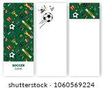 soccer football abstract... | Shutterstock .eps vector #1060569224