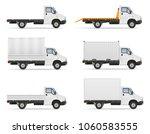 small truck van lorry for...   Shutterstock .eps vector #1060583555