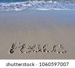 Peace Written In The Warm Beach ...