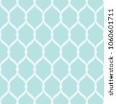 seamless turquoise grid pattern.... | Shutterstock .eps vector #1060601711