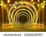 show light podium yellow... | Shutterstock .eps vector #1060626905
