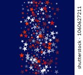 patriotic american stars... | Shutterstock .eps vector #1060627211