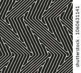 abstract monochrome zigzag... | Shutterstock .eps vector #1060631141