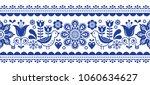 scandinavian seamless vector... | Shutterstock .eps vector #1060634627