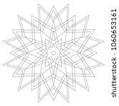 mandalas for beginners  adults  ... | Shutterstock . vector #1060653161
