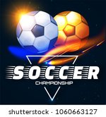 soccer competition label design ... | Shutterstock .eps vector #1060663127