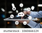 iaas  infrastructure as a... | Shutterstock . vector #1060666124