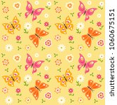 seamless pattern with... | Shutterstock .eps vector #1060675151
