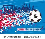 football championship concept... | Shutterstock .eps vector #1060684154