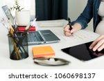 calendar planner agenda...   Shutterstock . vector #1060698137