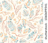 seamless vector pattern with... | Shutterstock .eps vector #1060699541