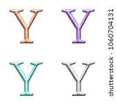 Pastel Color Wood Letter Y ...