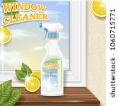 spray for window cleaning ... | Shutterstock .eps vector #1060715771