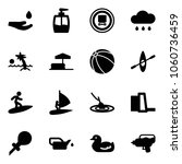 solid vector icon set   drop... | Shutterstock .eps vector #1060736459