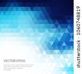 abstract polygonal background... | Shutterstock .eps vector #1060748819