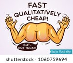 worst worker sticker print.... | Shutterstock .eps vector #1060759694