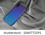 huawei p20 pro twilight color...   Shutterstock . vector #1060772291