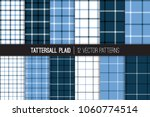classic navy  blue and white... | Shutterstock .eps vector #1060774514