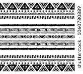 ethnic seamless pattern in... | Shutterstock .eps vector #1060780889