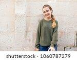 portrait of beautiful teenager...   Shutterstock . vector #1060787279